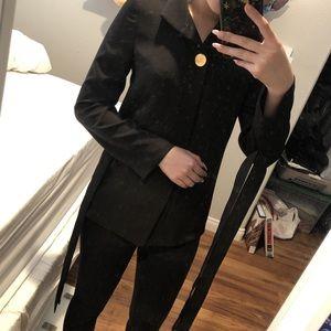 blouse / black / blasè